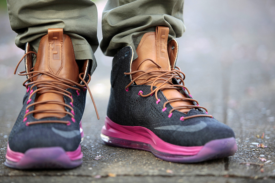 Nike LeBron 10 EXT QS Denim