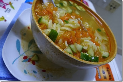 spicy veggie soup