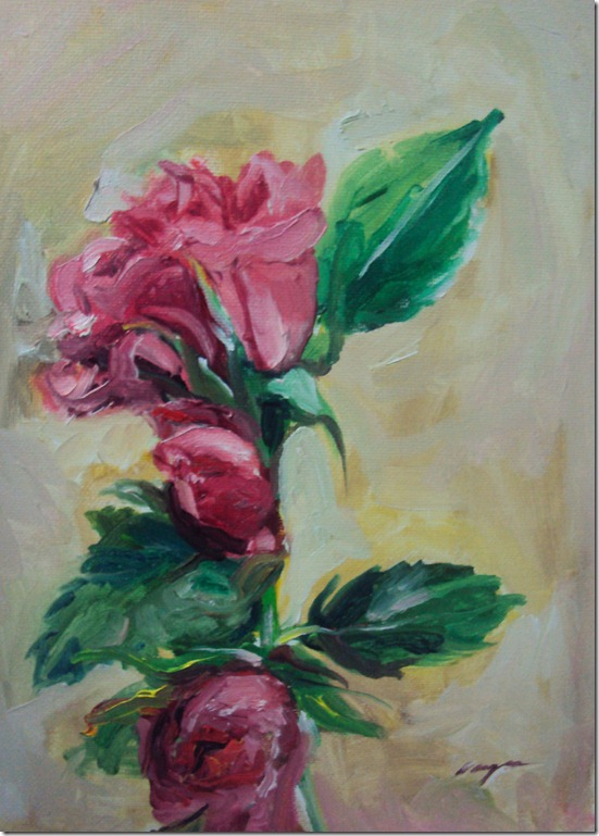 roses painting123