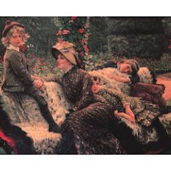 Tissot, James Jacques ~The Garden Bench~