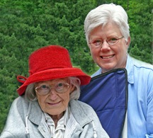 Brenda, & Mom
