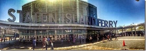 Staten Island Ferry Panorama