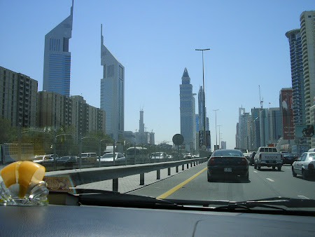 Modern buildings in Dubai