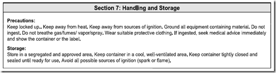 MSDS_ANSI_Section_7