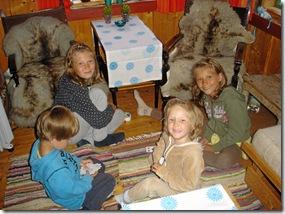 Synne 11 år, selskap i Kvanndalen 036