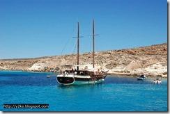 Gli amici del caicco - Lampedusa