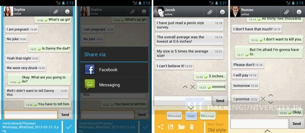 whatsaid-android-application