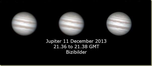 11 December 2013 Jupiter
