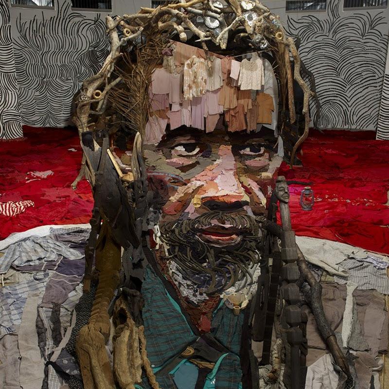 Anamorphic Portrait by Bernard Pras