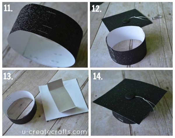4 DIY graduation cap with headband
