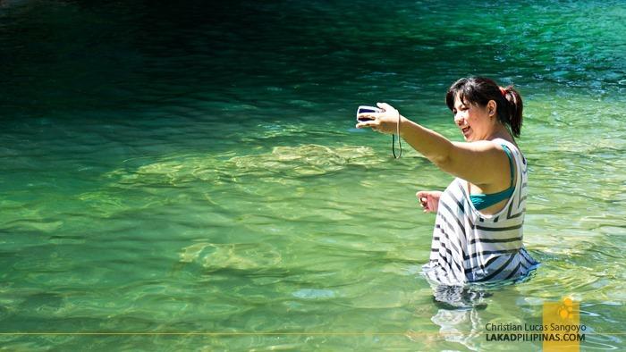 Blue Green Waters at Pangasinan's Bolinao Falls