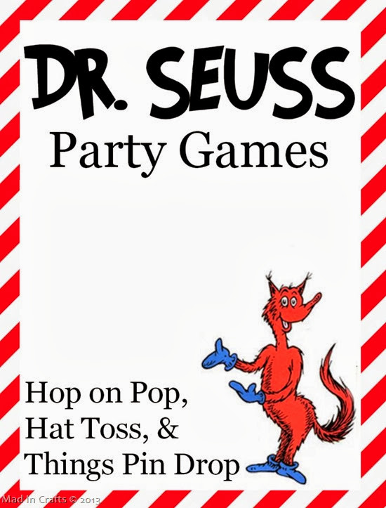 seuss party games