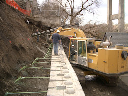 Spokane Soil Anchor Retaining Wall