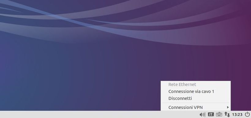 Applet Network Manager in Lubuntu 14.04 Trusty