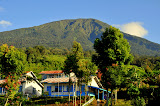 The transmigrant village in the Dempo tea plantation (Wolfgang Piecha, June 2011)