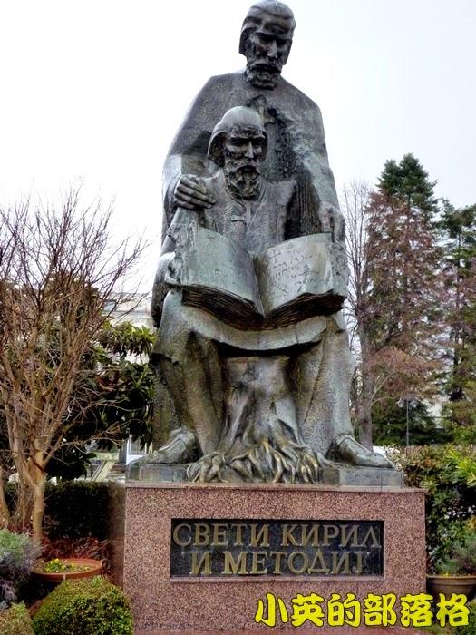 2006-3馬其頓~爾兄弟雕像(斯拉夫文字發明者).JPG