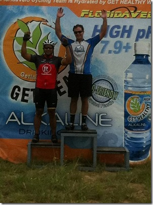 Labor Day Crit Podium