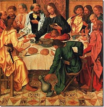 Judas na Ceia com Jesus