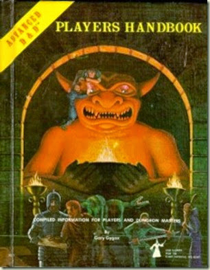 AD&D 1st ed Player's Handbook