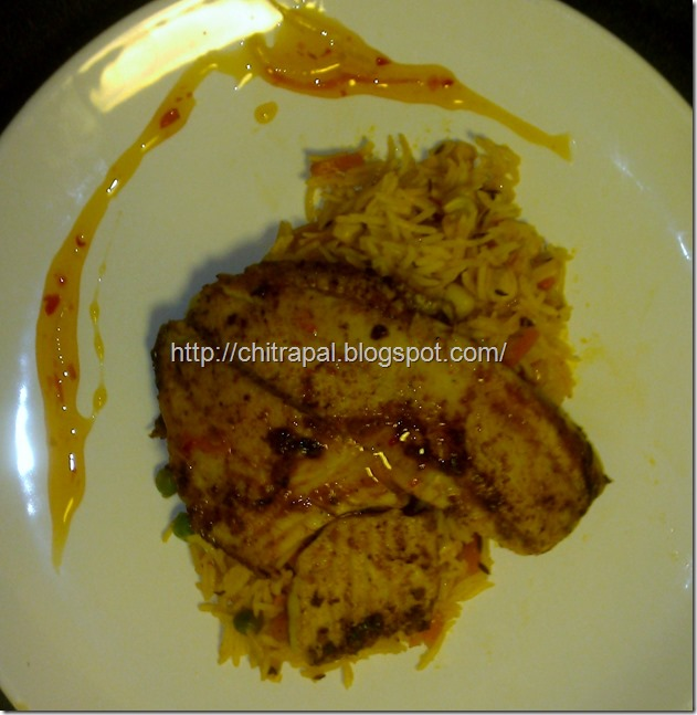 Chitra Pal Pan Seared Tilapia