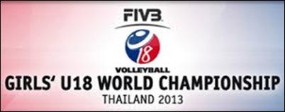 Campeonato Mundial de Voleibol Femenino Sub 18 Tailandia 2013