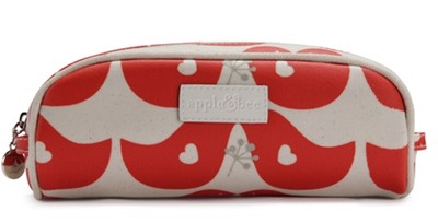 red birds pencil case