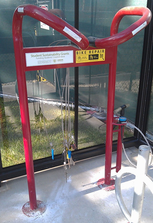 Self-Serve Bicycle Repair Stands