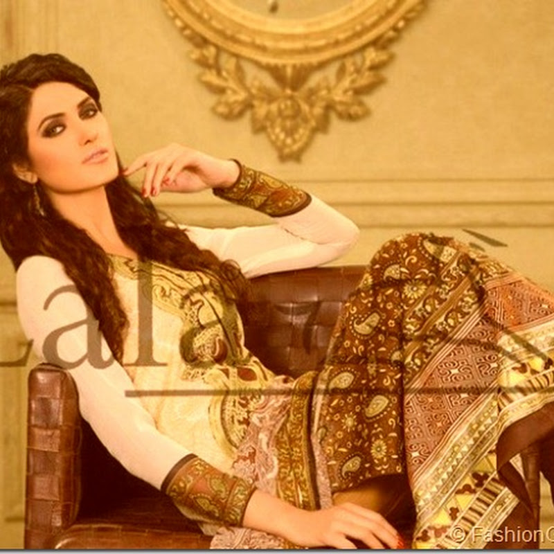 Lala Textiles Sana Samia Latest Lawn Collection 2013