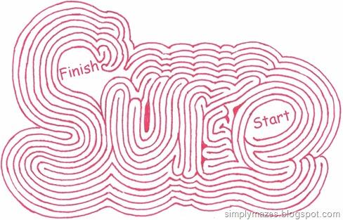 """Maze #29: """"Sure"""""""