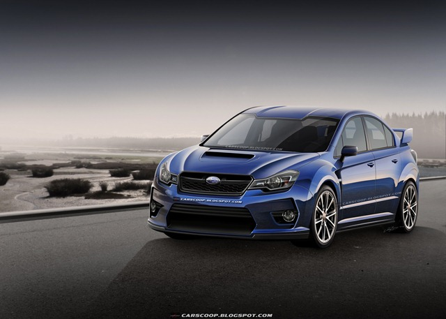 Future Cars: Crystal Ball Gazing the New 2014 Subaru WRX