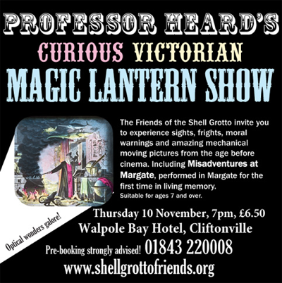curious magic lantern show