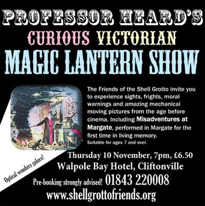 curious magic lantern show