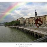 Arco iris sobre Bilbao