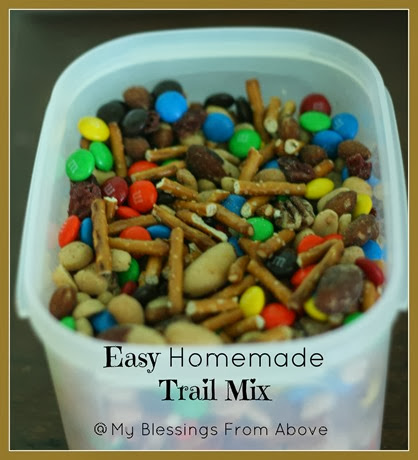 Easy Homemade Trail Mix 2