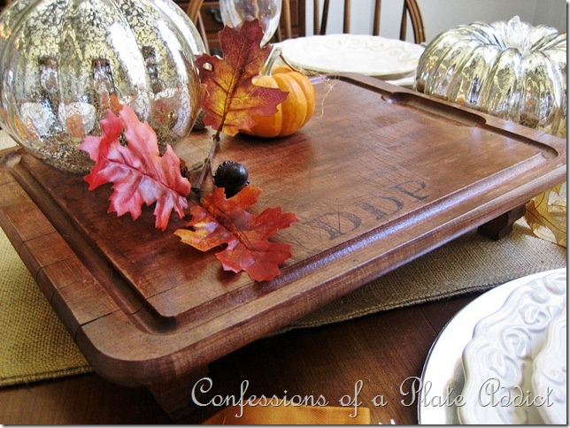 CONFESSIONS OF A PLATE ADDICT Pottery Barn Inspired Monogrammed Board 5