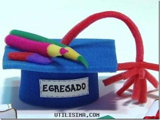 Moldes de birretes de graduación en foami - Imagui