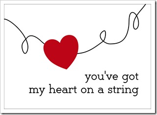 Just Because 22 - you've got my heart on a string - IMAGE