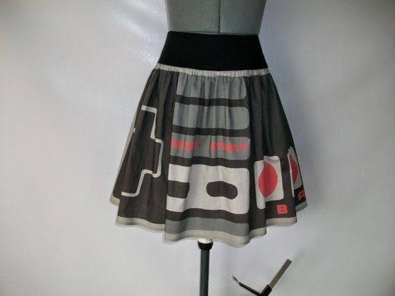 Nintendo Controller Skirt frmo Complements By Jo