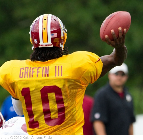 'Robert Griffin III' photo (c) 2012, Keith Allison - license: http://creativecommons.org/licenses/by-sa/2.0/