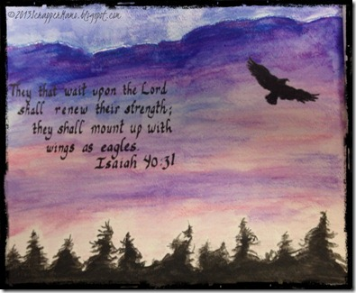 Kristy Water Color Eagle