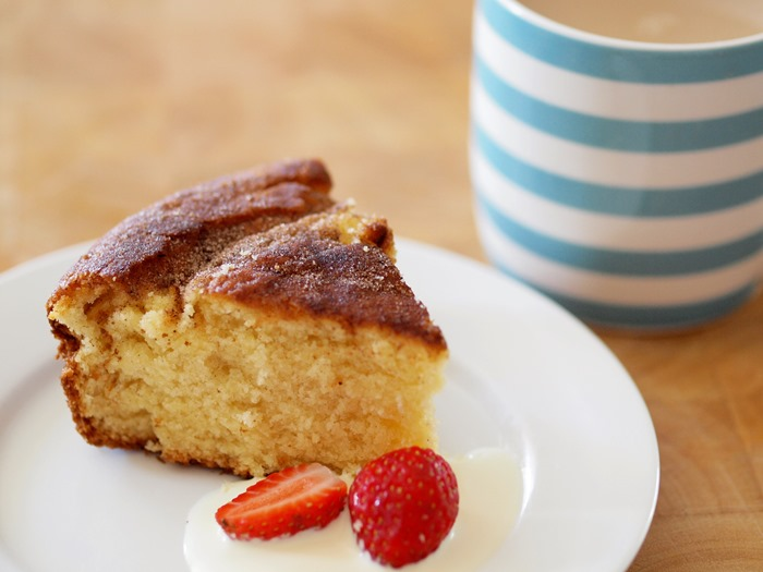 aftermoon cinnamon tea cake
