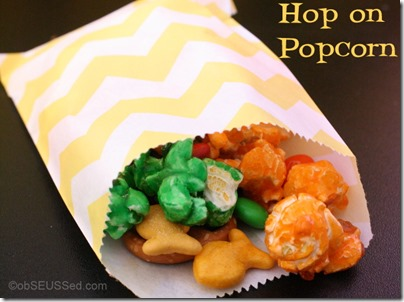 Hop on Popcorn Treat Bag obSEUSSed