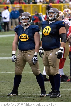 'Scott Wells (63), Josh Sitton (71)' photo (c) 2010, Mike Morbeck - license: http://creativecommons.org/licenses/by-sa/2.0/