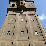 watertoren in Santpoort-Noord, Noord Holland, Netherlands