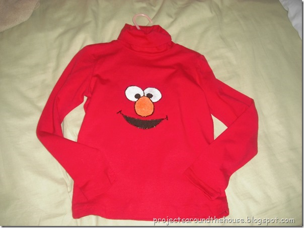 DIY Elmo Shirt