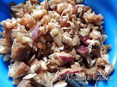 Cinnamon Apple Crunch for cold cereal