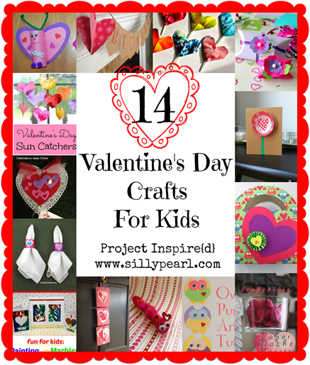 14 Valentines Day Crafts for Kids - The Silly Pearl