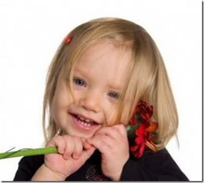 niña con flores (2)