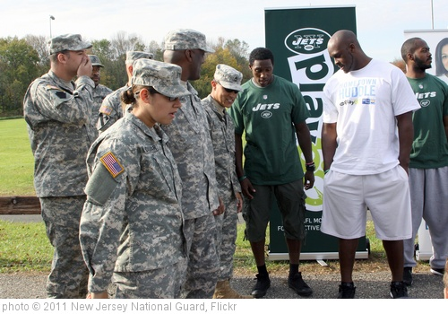 'Hometown Huddle Event at Florham Park, NJ' photo (c) 2011, New Jersey National Guard - license: http://creativecommons.org/licenses/by-nd/2.0/