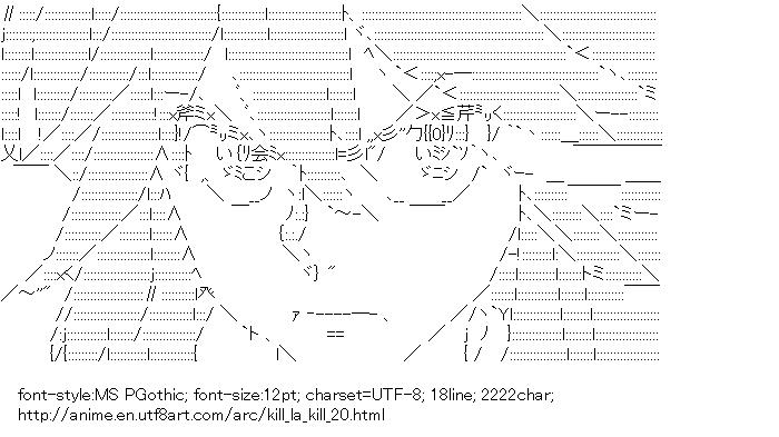Kill la Kill,Matoi Ryuko